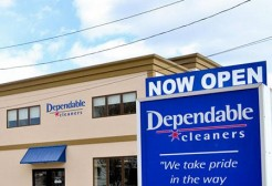 Dependable Cleaners Wins Award